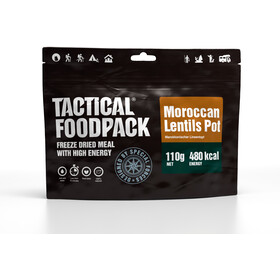 Tactical Foodpack Freeze Dried Meal 110g, Moroccan Lentils Pot